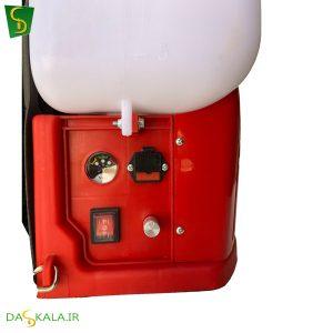 سمپاش شارژی طرح موتوری فشار بالا رهینو پاور