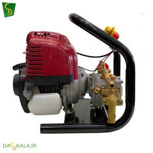 سمپاش موتوری پرتابل ماک مدل MTPS 35 موتور چهارزمانه هوندایی GX35
